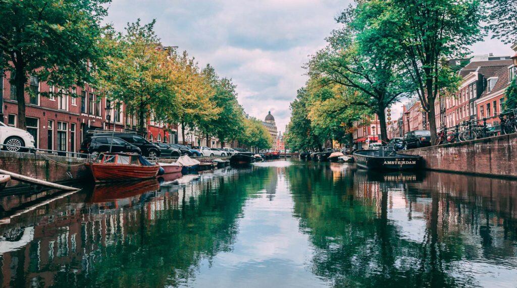 I famosi canali di Amsterdam