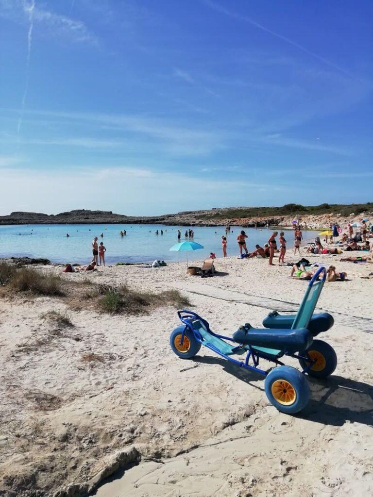 BINIBEQUER: spiaggia