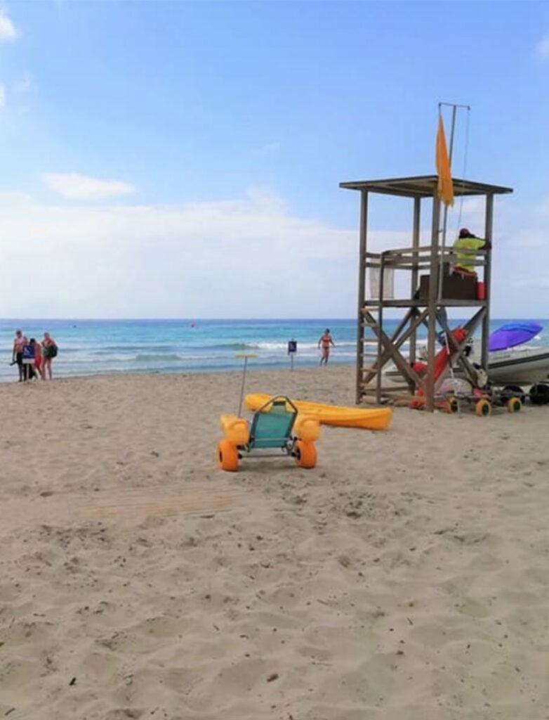 Sant Tomas: spiaggia